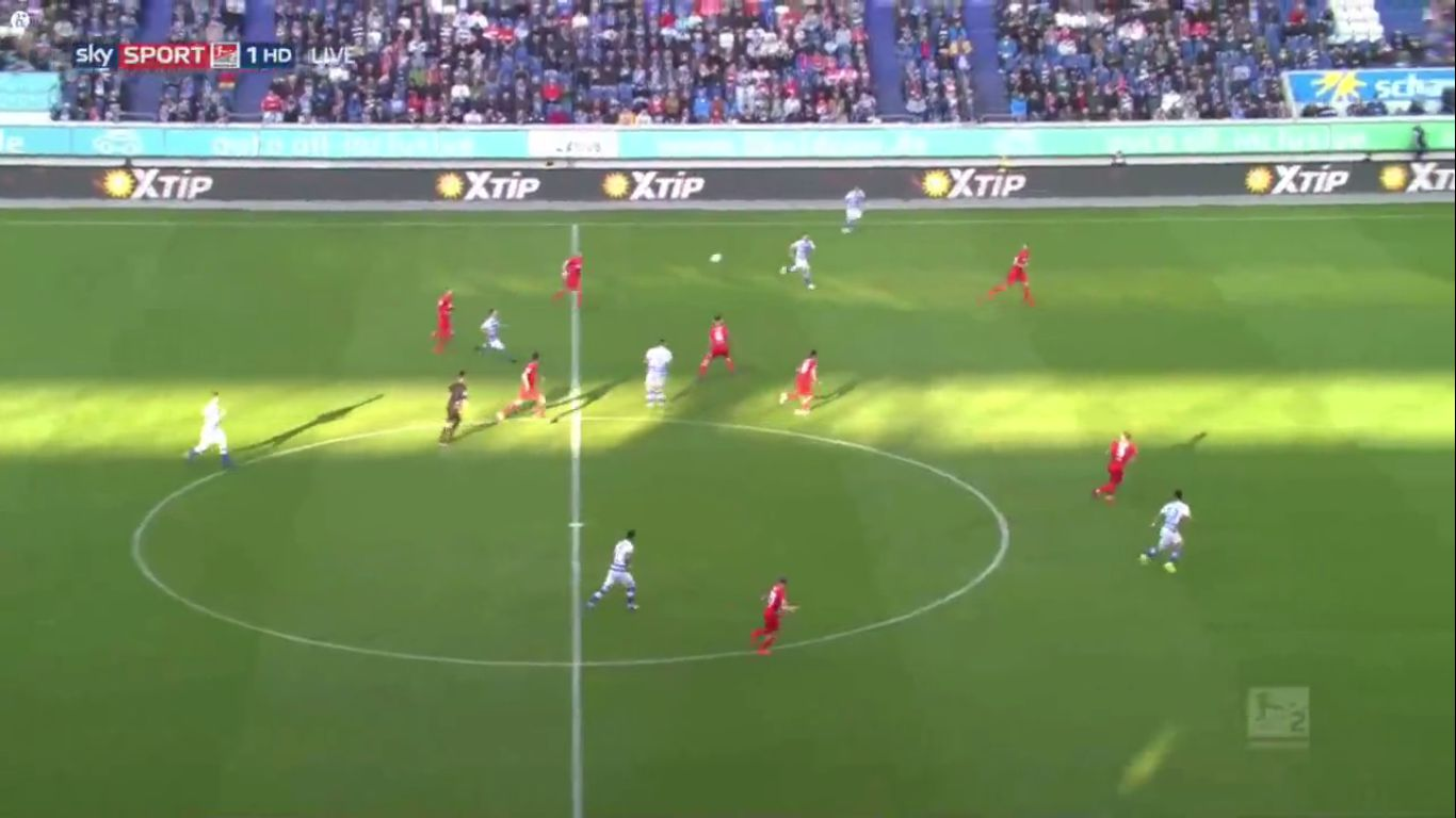 10-04-2019 - MSV Duisburg 4-4 1. FC Koln (2. BUNDESLIGA)