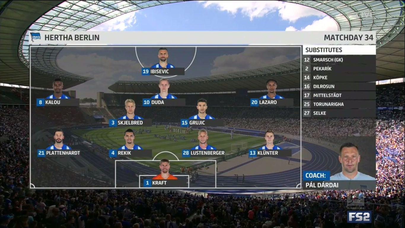 18-05-2019 - Hertha BSC 1-5 Bayer Leverkusen