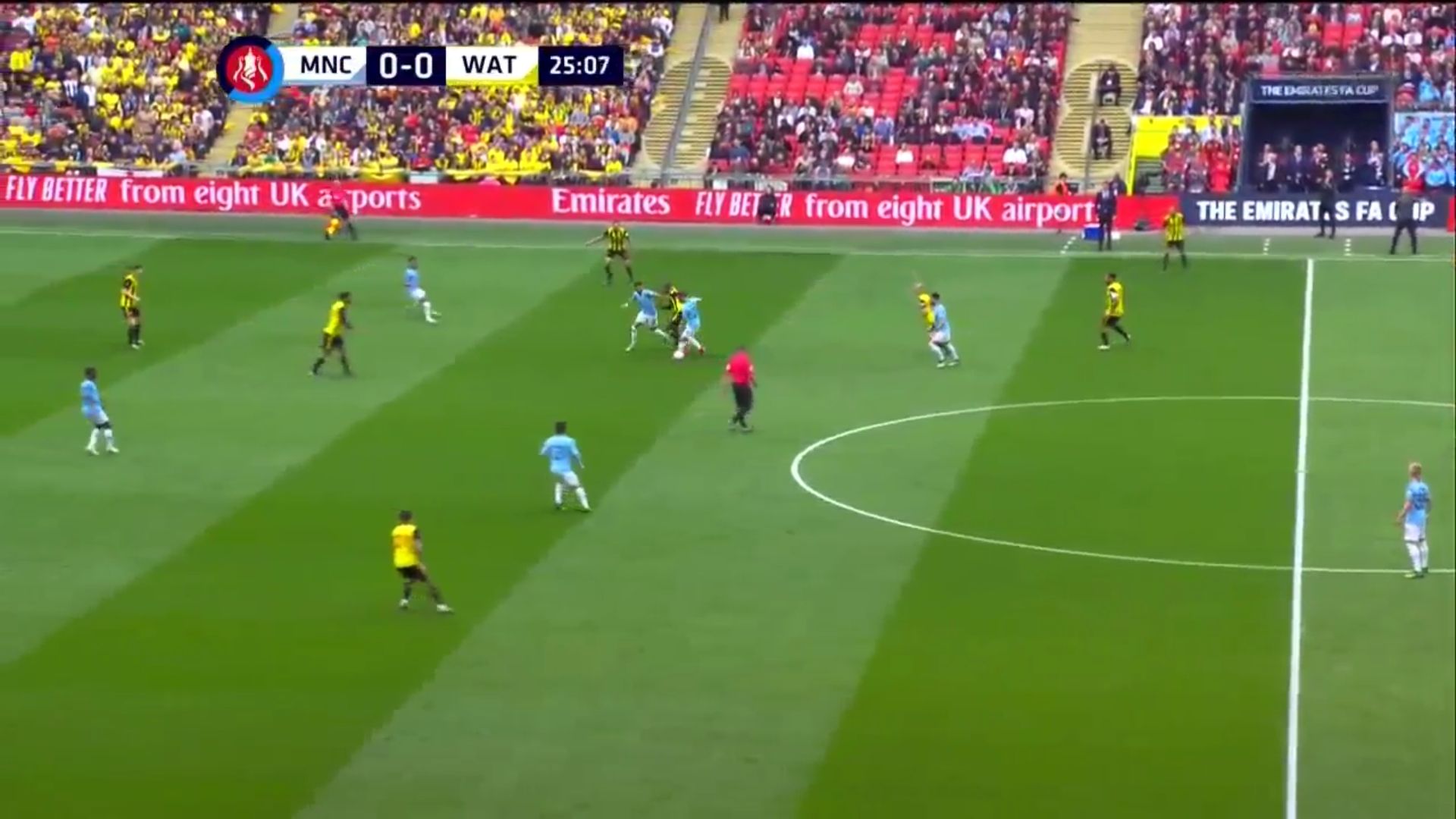 18-05-2019 - Manchester City 6-0 Watford (FA CUP - FINAL)