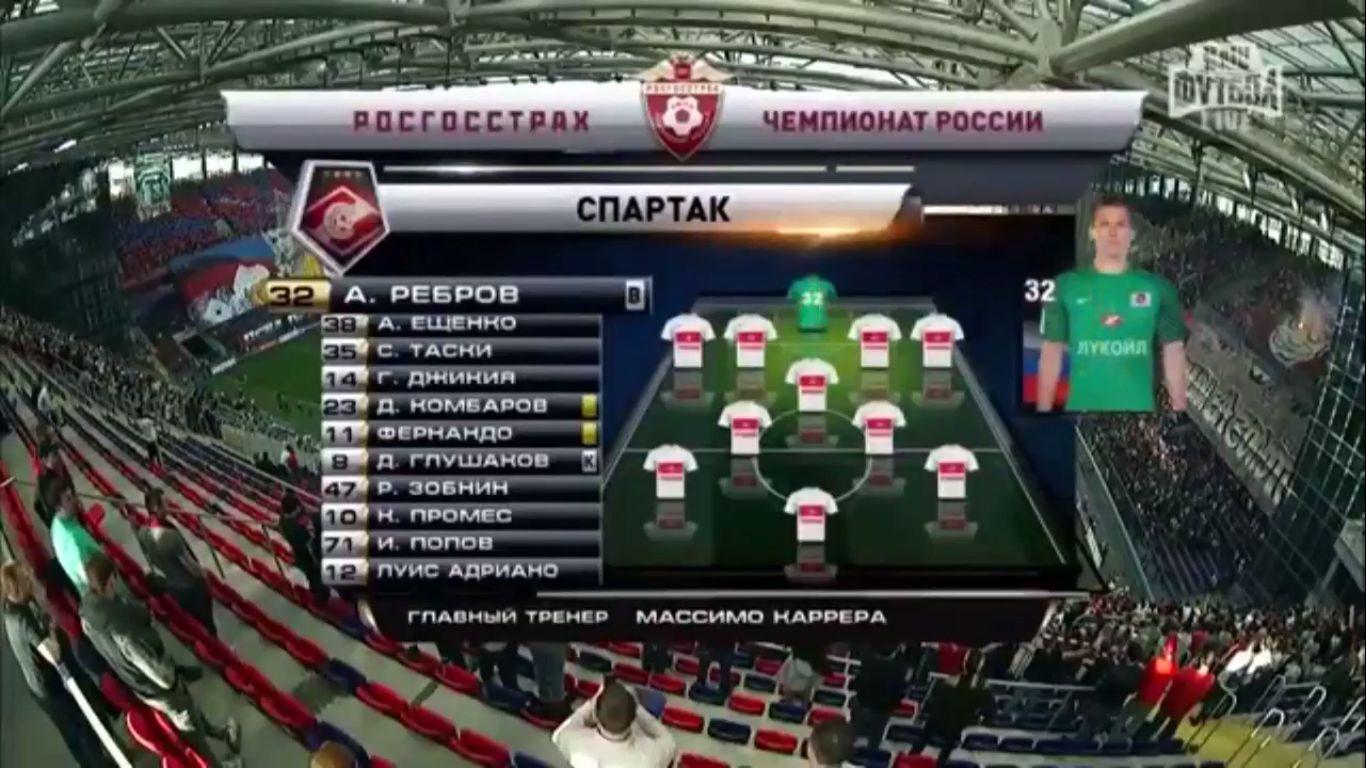 19-08-2019 - FC Spartak Moscow 2-1 CSKA Moscow
