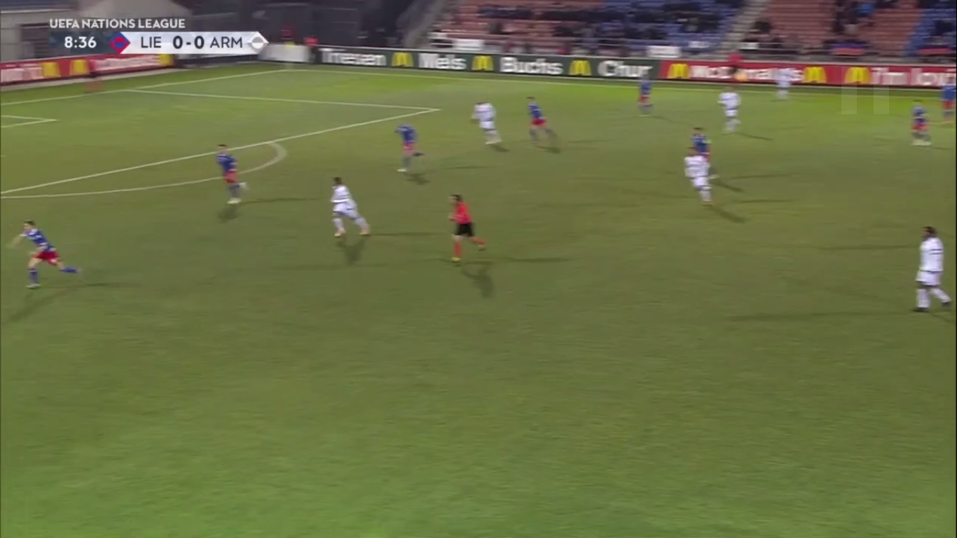 19-11-2018 - Liechtenstein 2-2 Armenia (UEFA NATIONS LEAGUE)