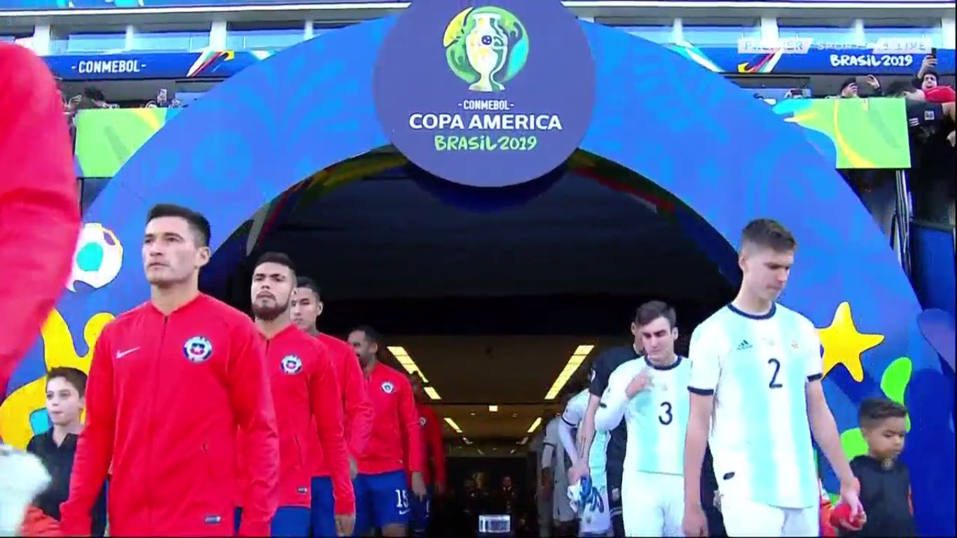 06-07-2019 - Argentina 2-1 Chile (COPA AMERICA - 3RD PLACE)