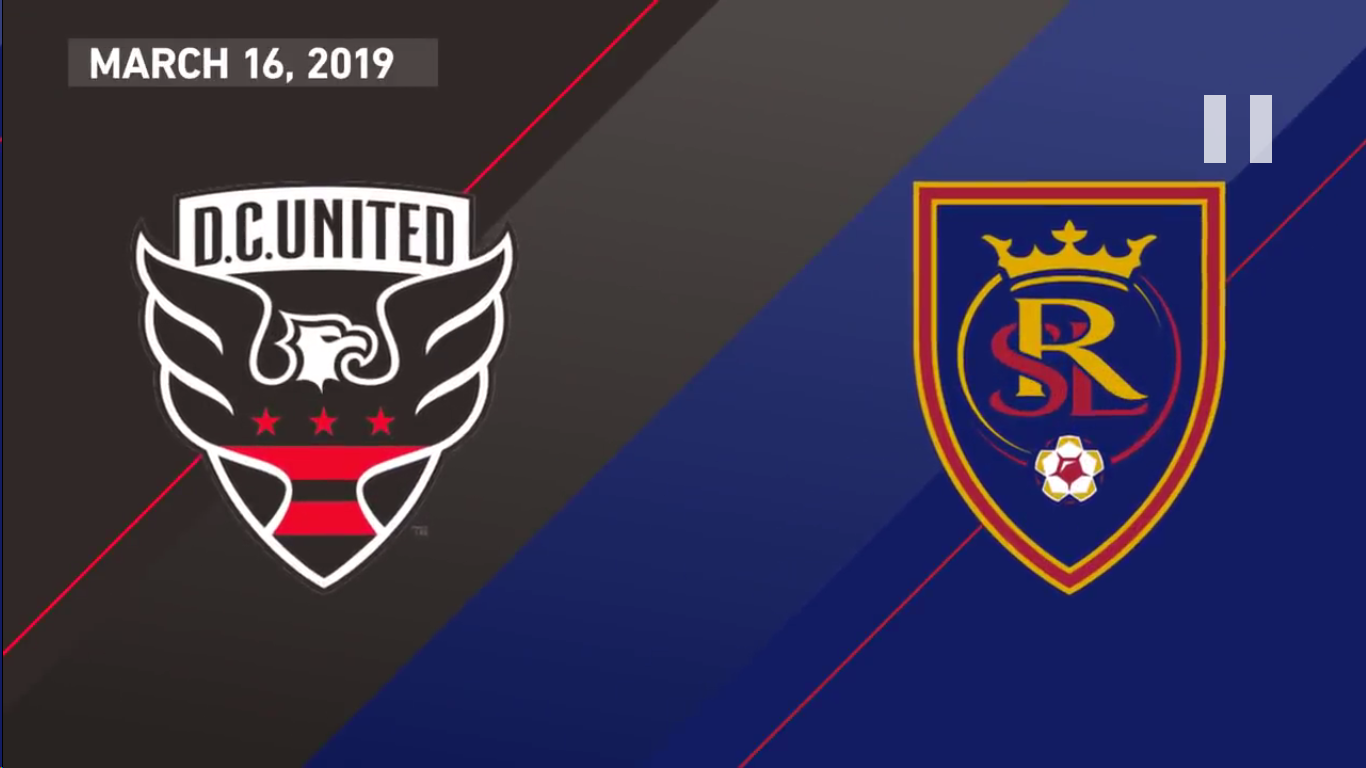 17-03-2019 - DC United 5-0 Real Salt Lake
