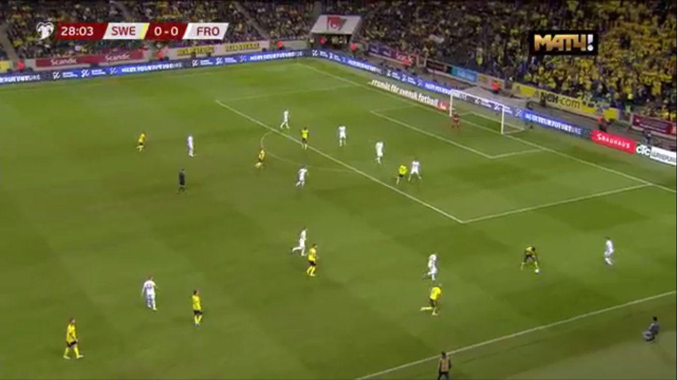 18-11-2019 - Sweden 3-0 Faroe Islands (EURO QUALIF.)