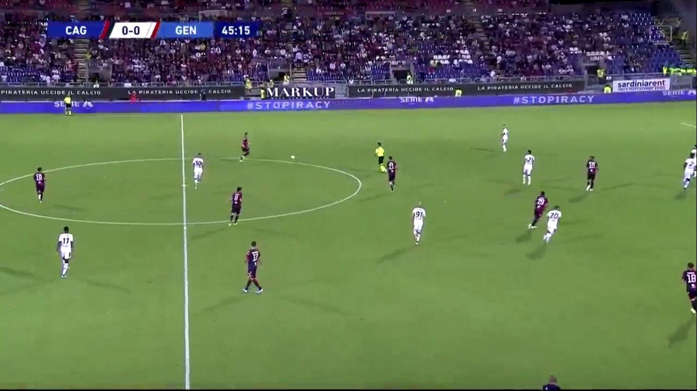 20-09-2019 - Cagliari 3-1 Genoa