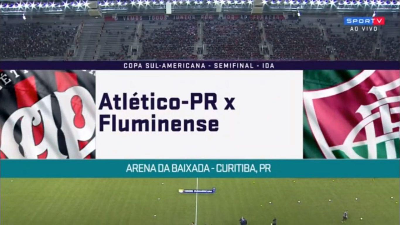 08-11-2018 - Atletico PR 2-0 Fluminense (COPA SUDAMERICANA)