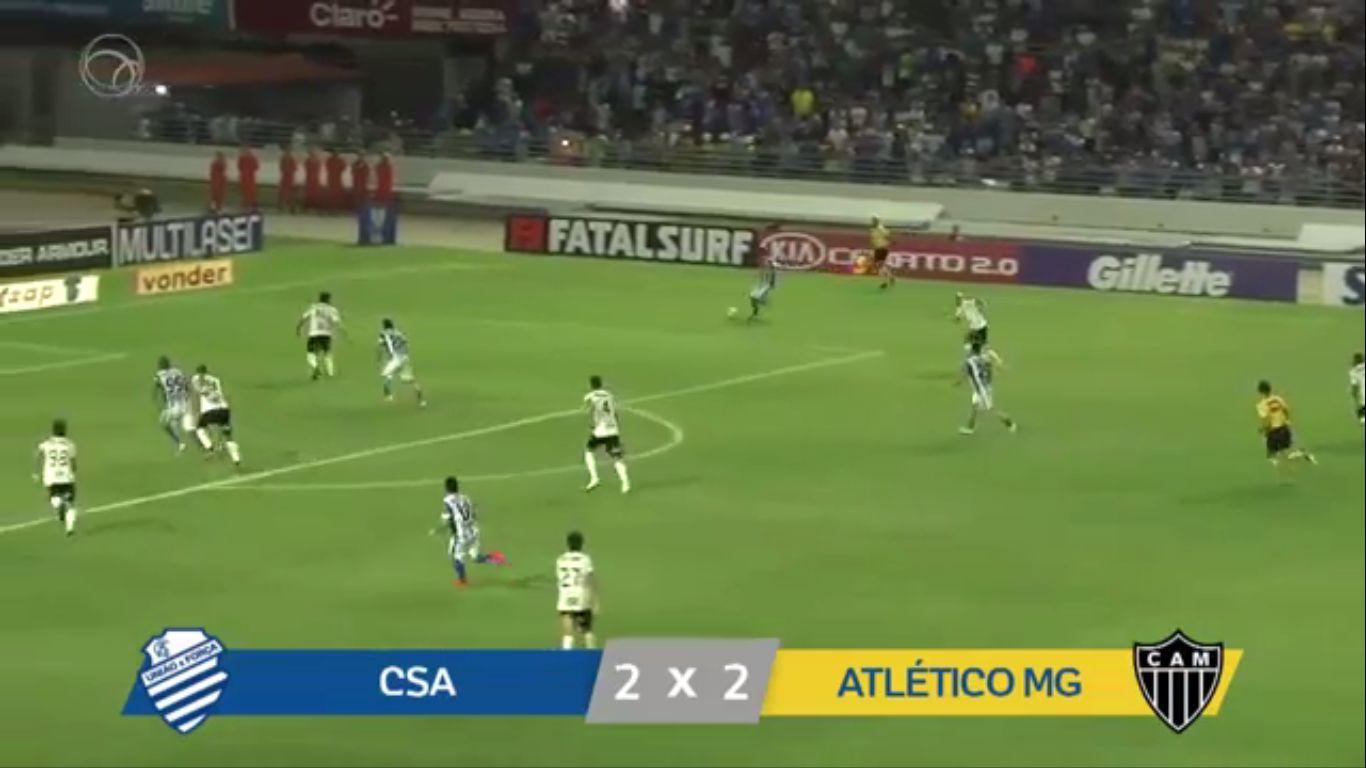 17-10-2019 - CSA AL 2-2 Atletico Mineiro MG