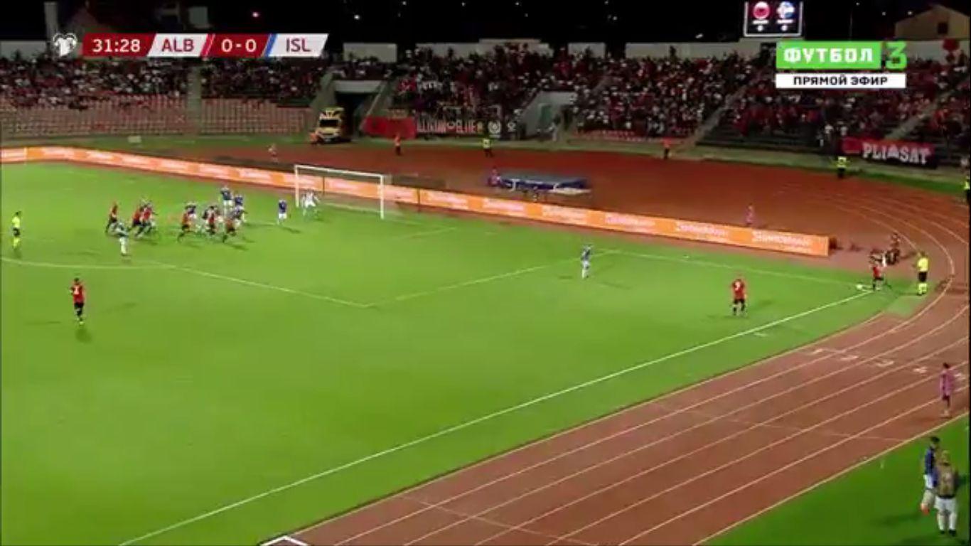 10-09-2019 - Albania 4-2 Iceland (EURO QUALIF.)