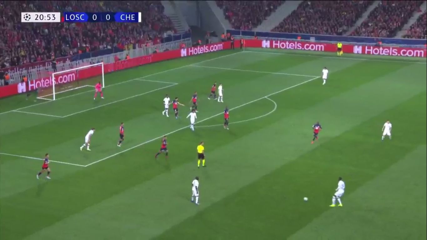 02-10-2019 - Lille 1-2 Chelsea (CHAMPIONS LEAGUE)