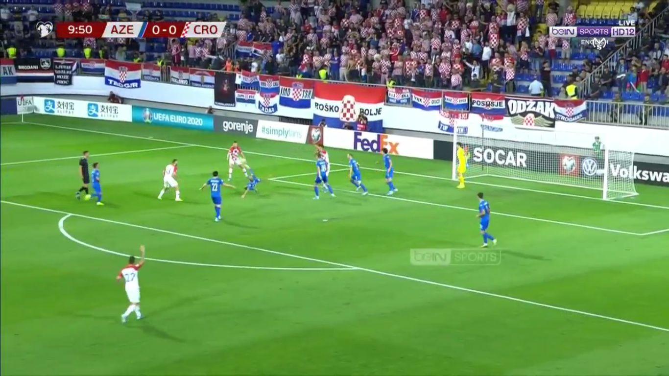 09-09-2019 - Azerbaijan 1-1 Croatia (EURO QUALIF.)