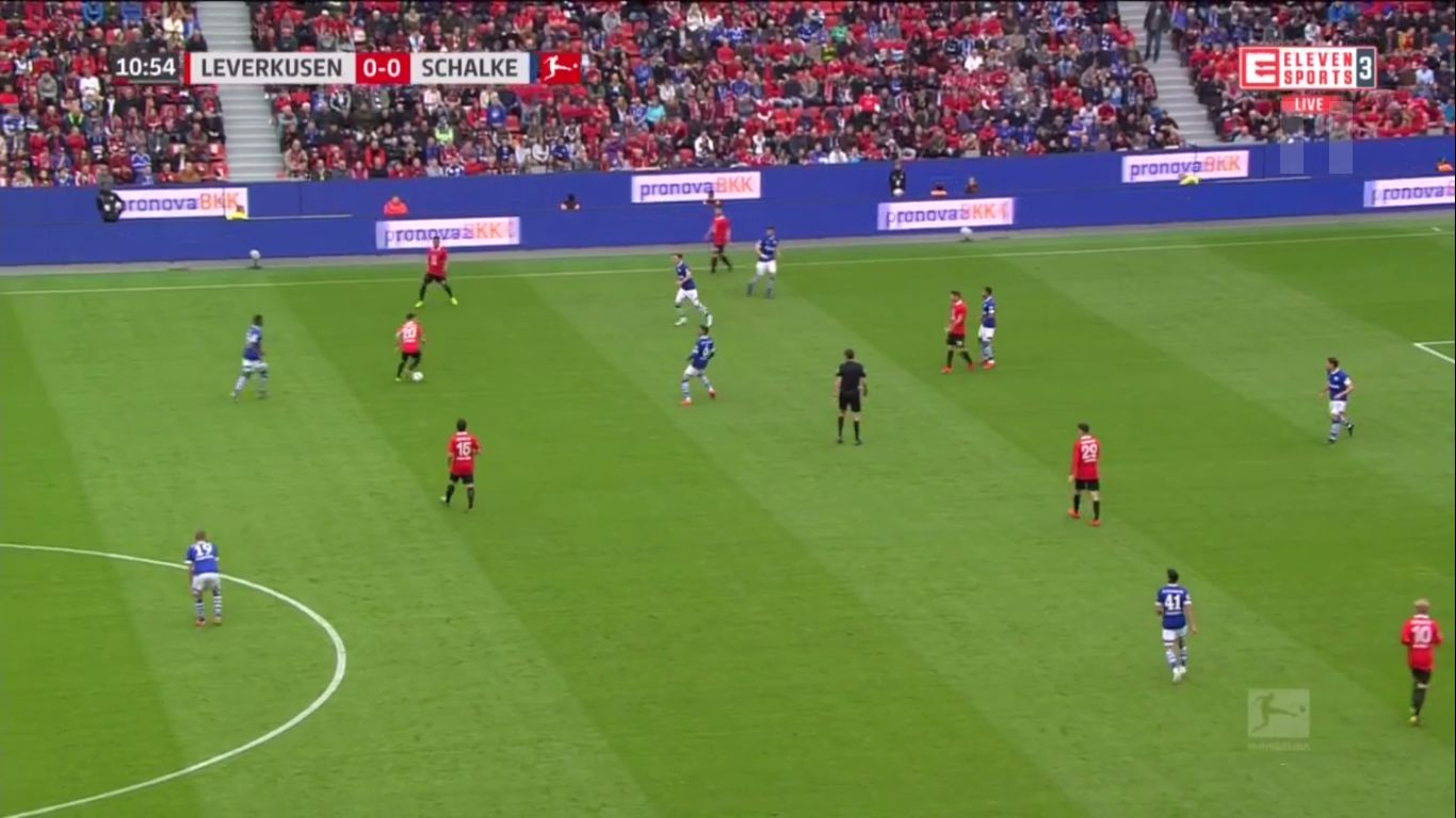 11-05-2019 - Bayer Leverkusen 1-1 Schalke 04