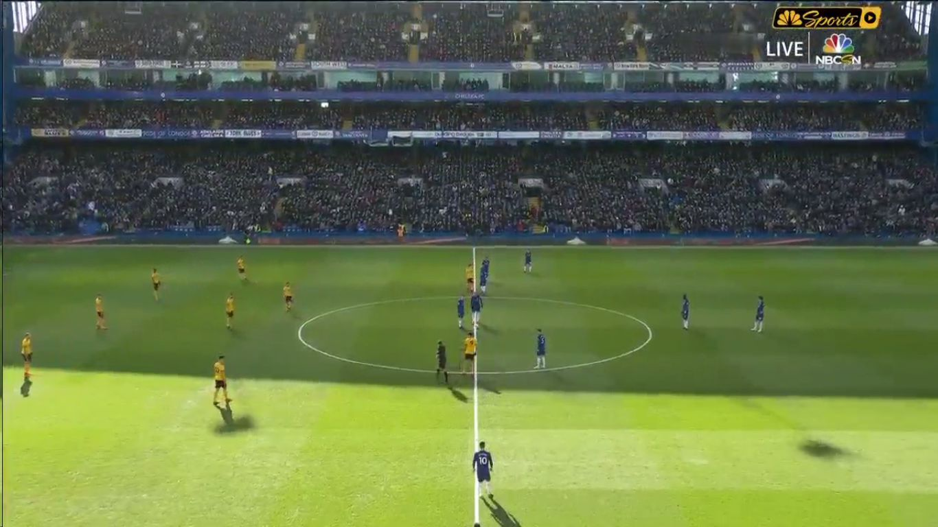 10-03-2019 - Chelsea 1-1 Wolverhampton Wanderers
