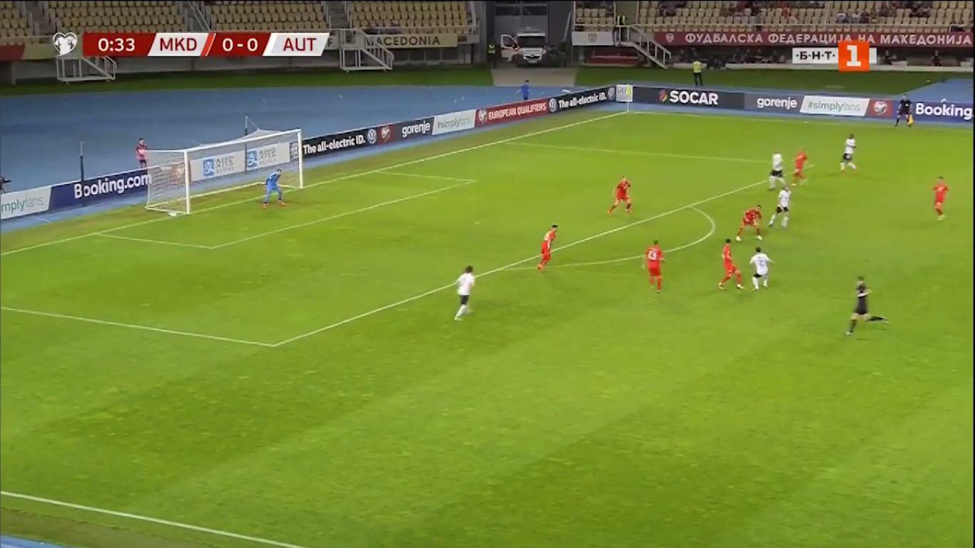 10-06-2019 - North Macedonia 1-4 Austria (EURO QUALIF.)