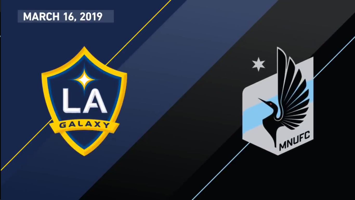 17-03-2019 - Los Angeles Galaxy 3-2 Minnesota United