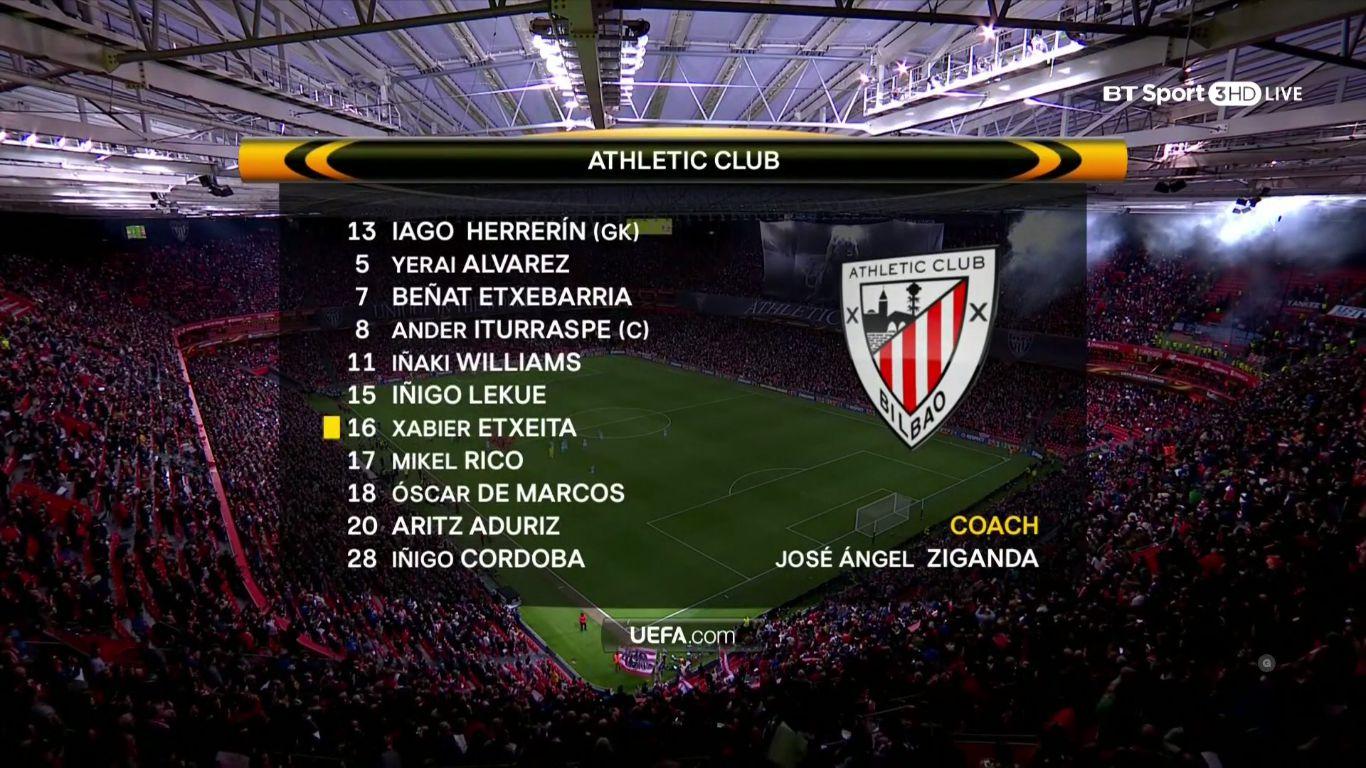 15-03-2018 - Athletic Bilbao 1-2 Marseille (EUROPA LEAGUE)
