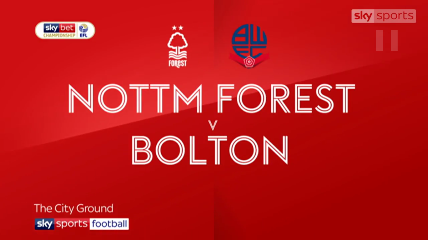 05-05-2019 - Nottingham Forest 1-0 Bolton Wanderers (CHAMPIONSHIP)
