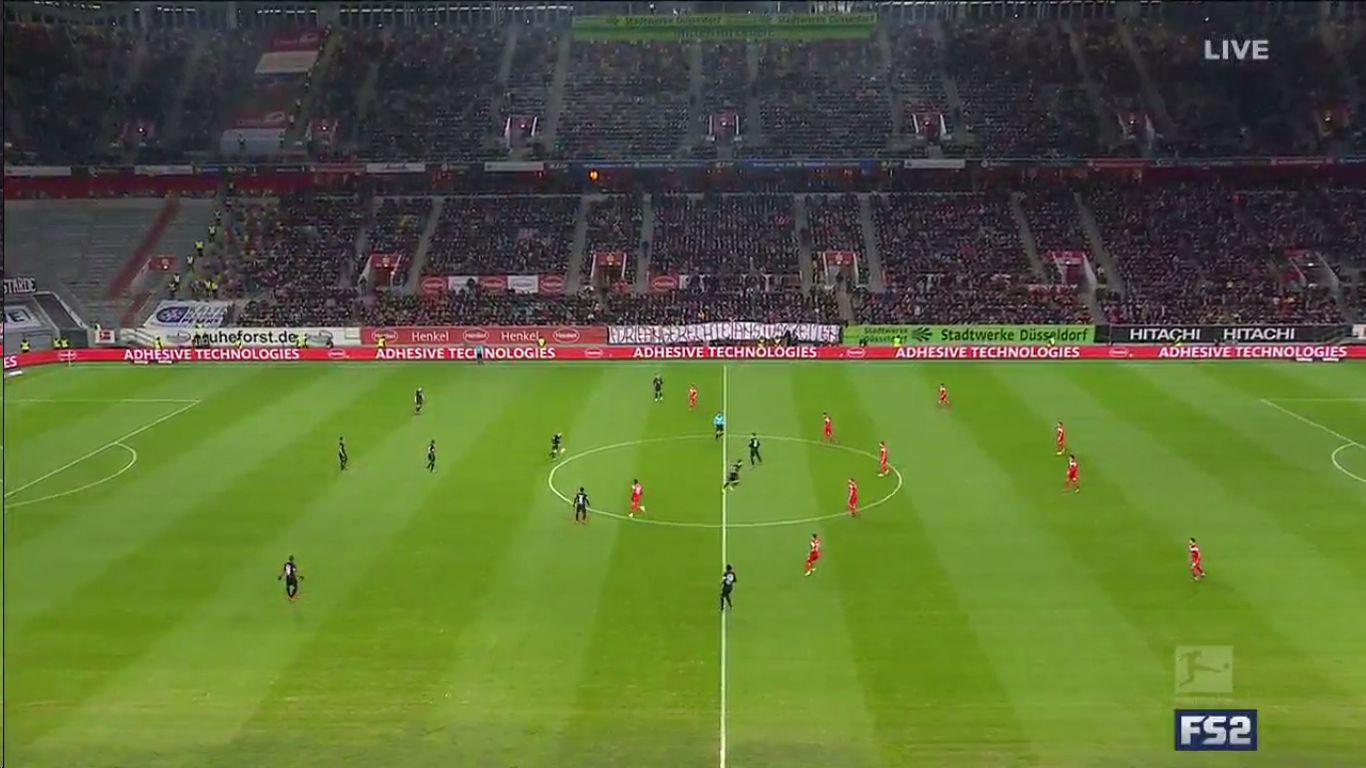 11-03-2019 - Fortuna Dusseldorf 0-3 Eintracht Frankfurt