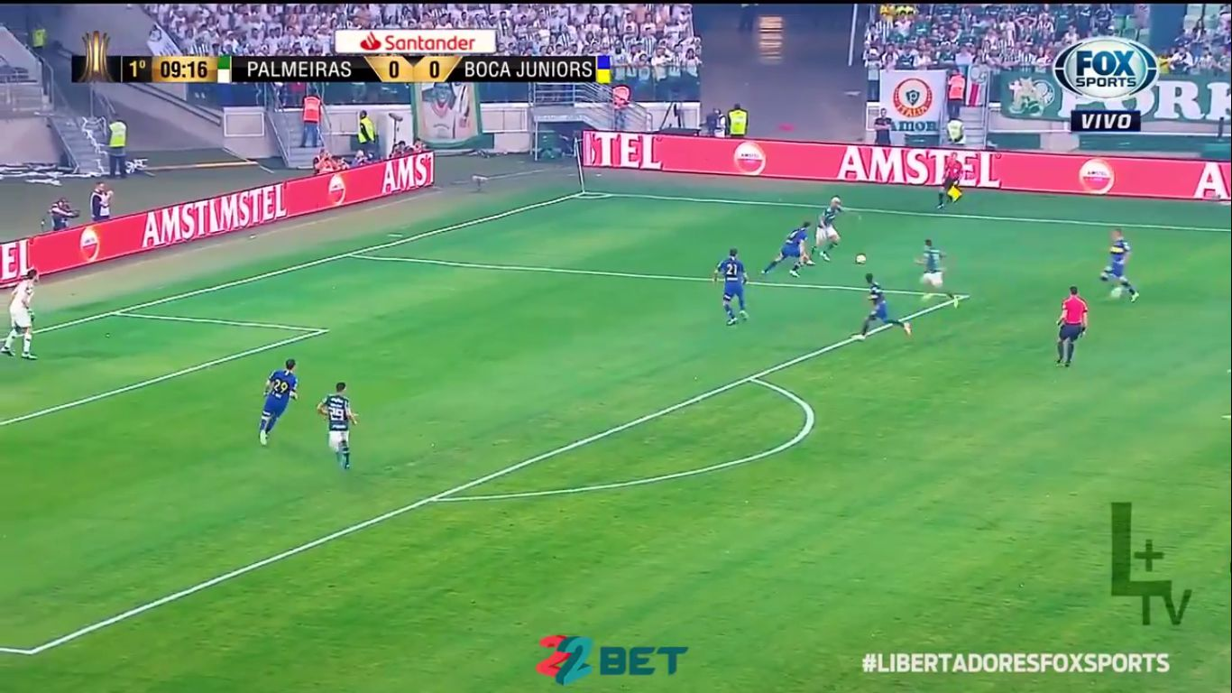 01-11-2018 - Palmeiras 2-2 Boca Juniors (COPA LIBERTADORES)