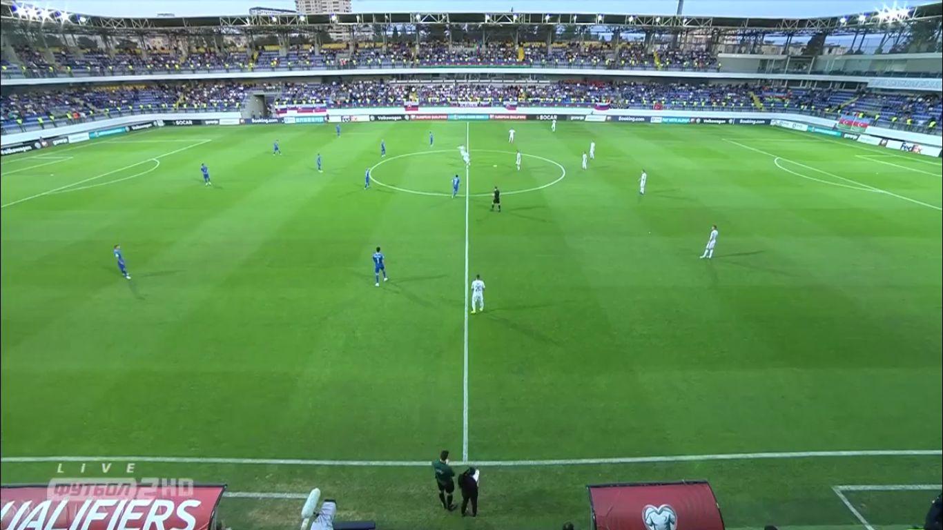 11-06-2019 - Azerbaijan 1-5 Slovakia (EURO QUALIF.)