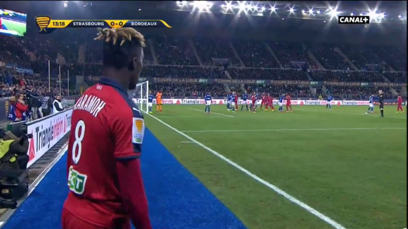 30-01-2019 - Strasbourg 3-2 Bordeaux (LEAGUE CUP)