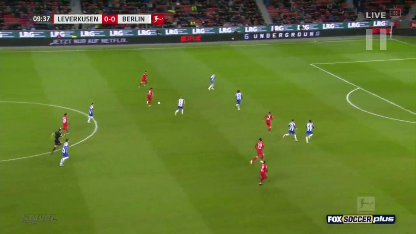 18-12-2019 - Bayer Leverkusen 0-1 Hertha BSC