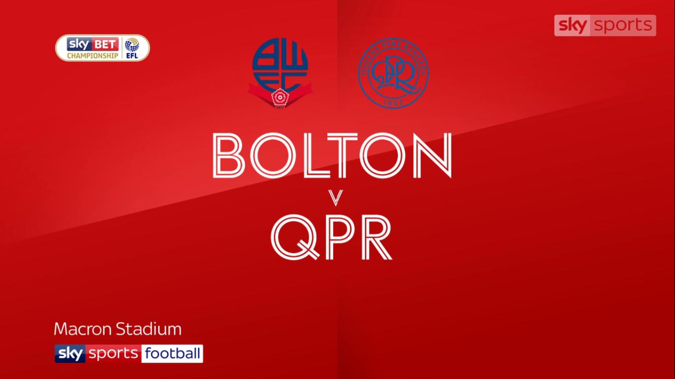 Bolton Wanderers 1-1 Queens Park Rangers (CHAMPIONSHIP)