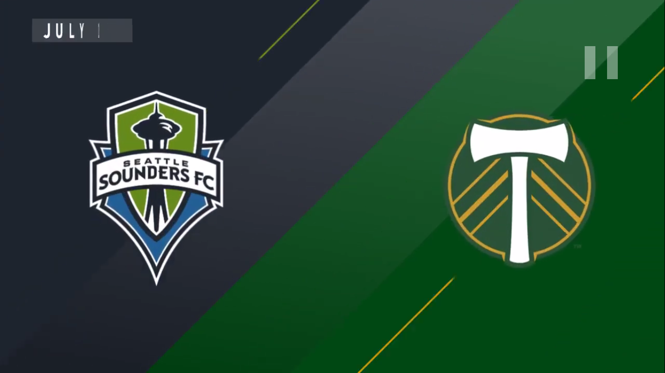 22-07-2019 - Seattle Sounders FC 1-2 Portland Timbers
