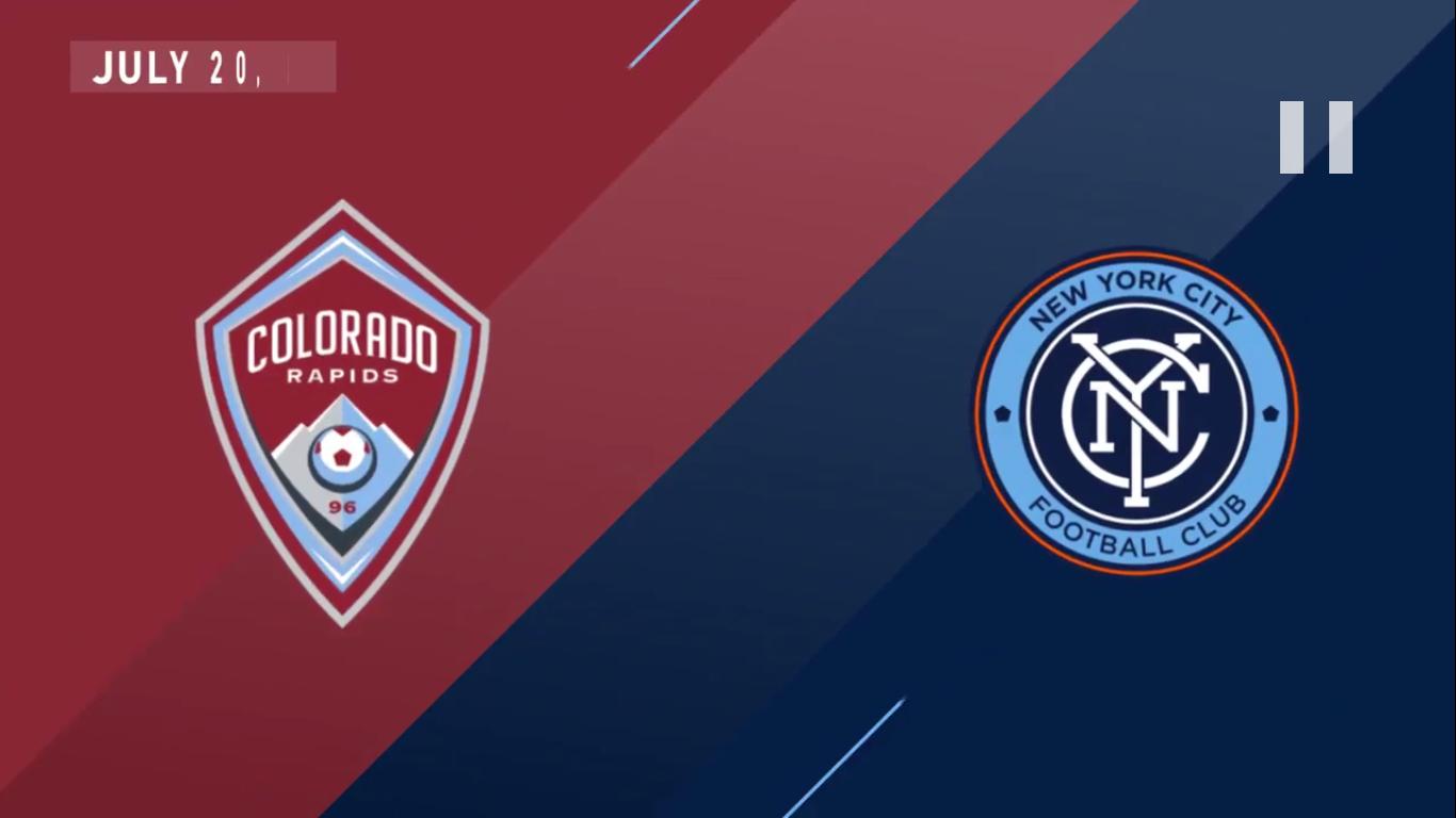 21-07-2019 - Colorado Rapids 1-2 New York City FC