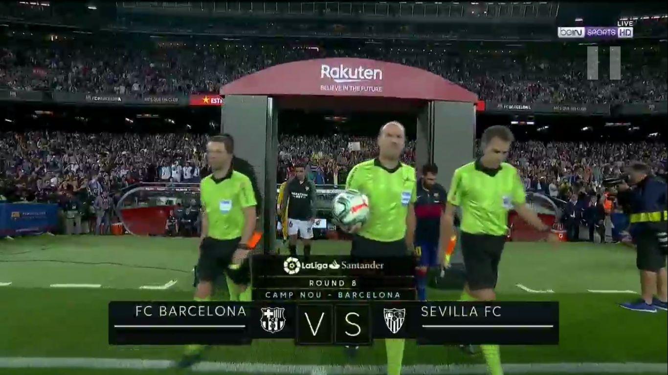 06-10-2019 - Barcelona 4-0 Sevilla