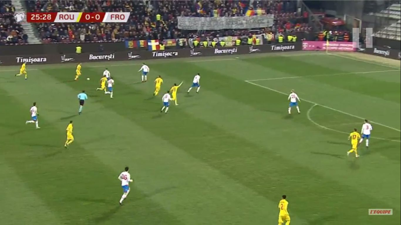 26-03-2019 - Romania 4-1 Faroe Islands (EURO QUALIF.)