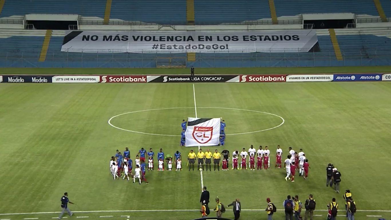 CD Olimpia 1-1 CD Plaza Amador (CONCACAF LEAGUE)