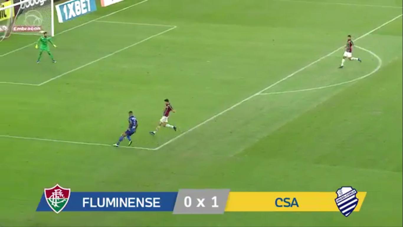 19-08-2019 - Fluminense FC RJ 0-1 CSA AL