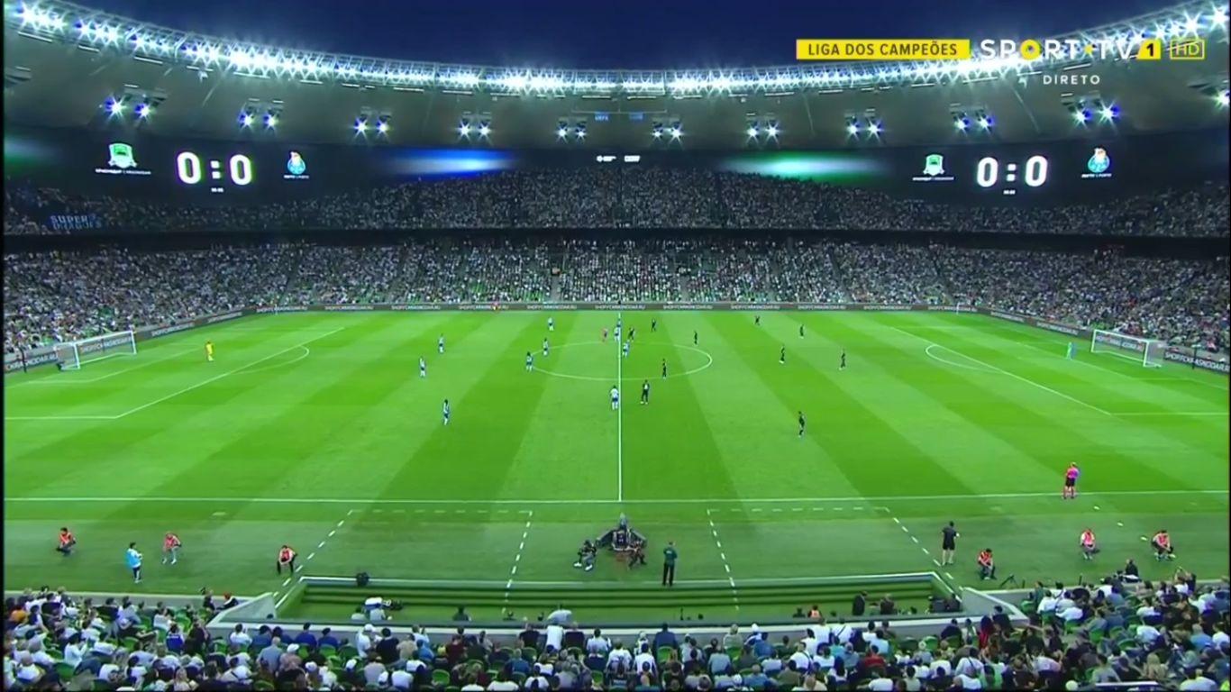 07-08-2019 - FC Krasnodar 0-1 FC Porto (CHAMPIONS LEAGUE QUALIF.)
