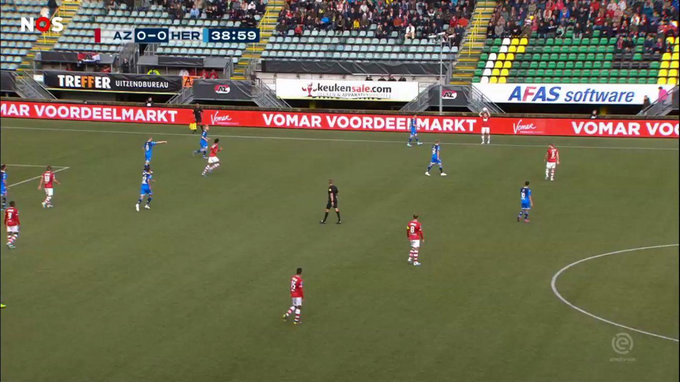 29-09-2019 - AZ Alkmaar 2-0 Heracles