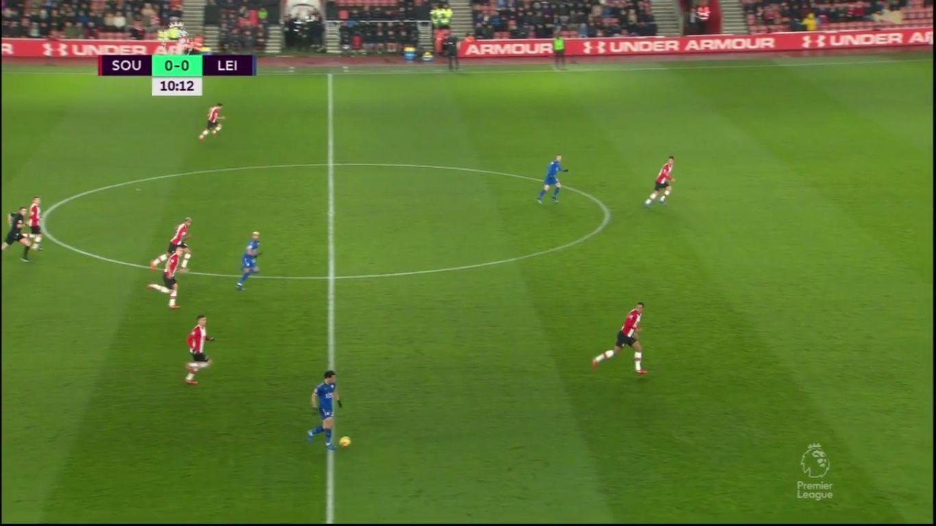 Southampton 1-4 Leicester City
