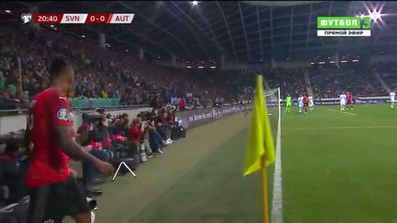 13-10-2019 - Slovenia 0-1 Austria (EURO QUALIF.)