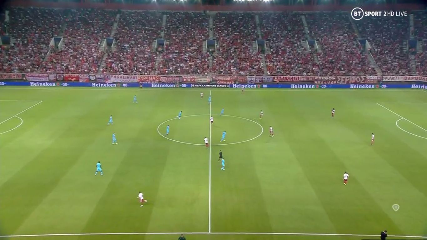 18-09-2019 - Olympiacos 2-2 Tottenham Hotspur (CHAMPIONS LEAGUE)