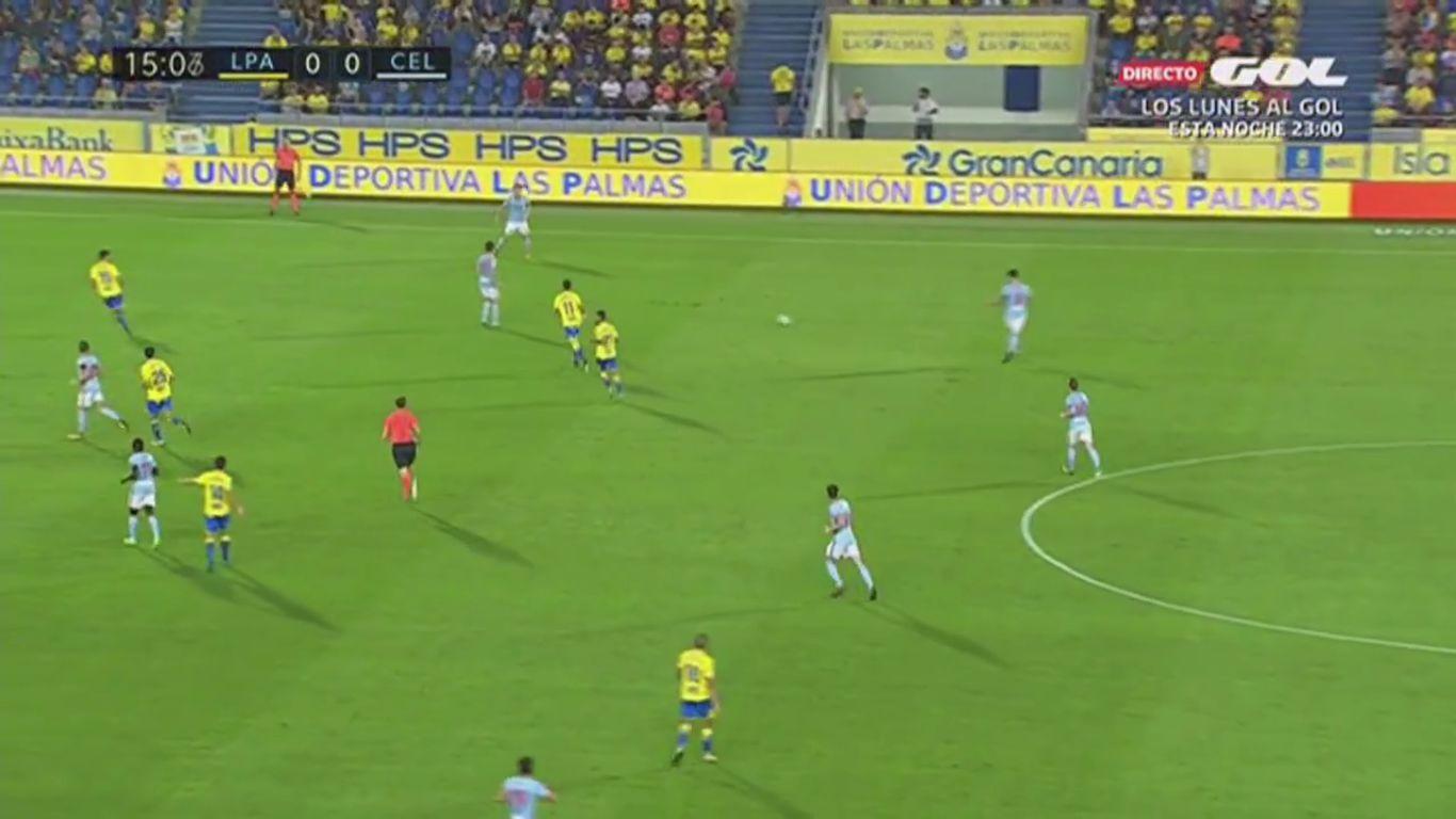 Las Palmas 2-5 Celta Vigo