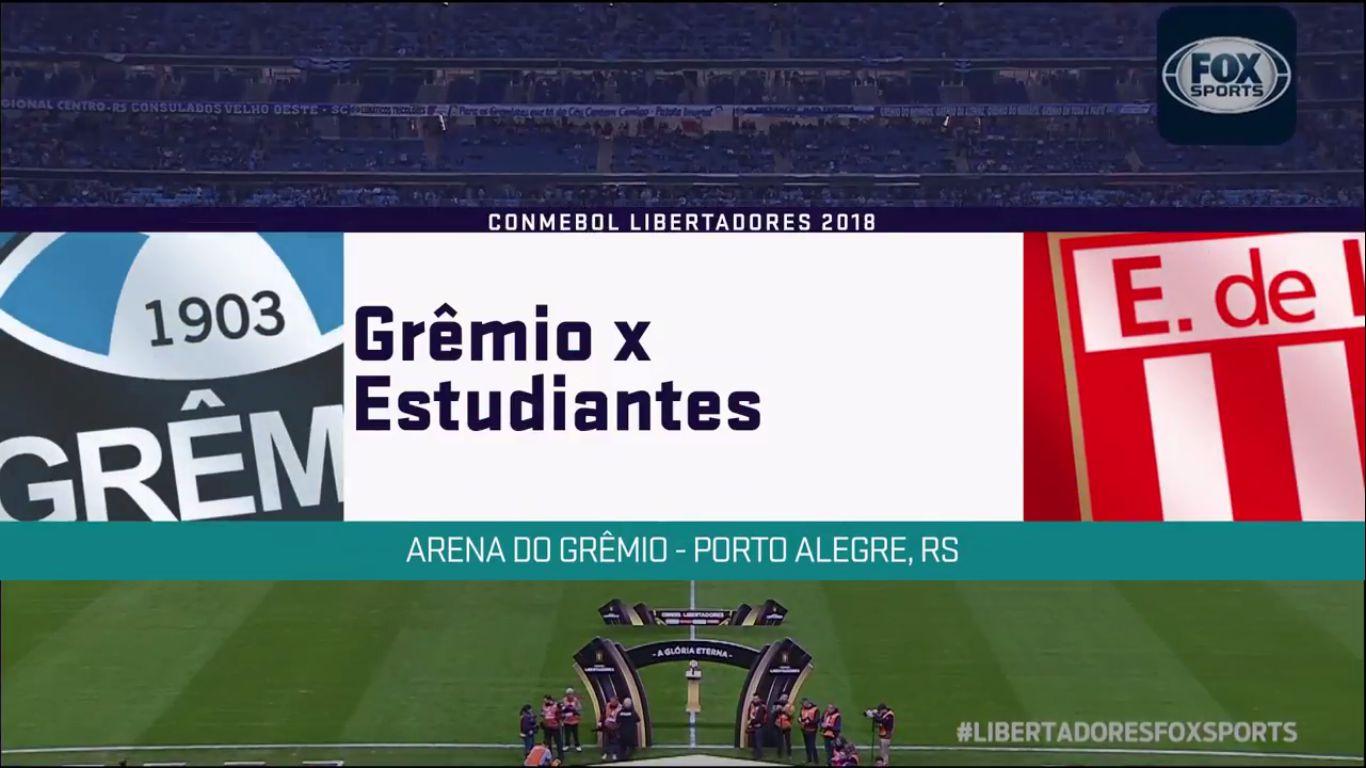 29-08-2018 - Gremio 2-1 (5-3 PEN.) Estudiantes (COPA LIBERTADORES)