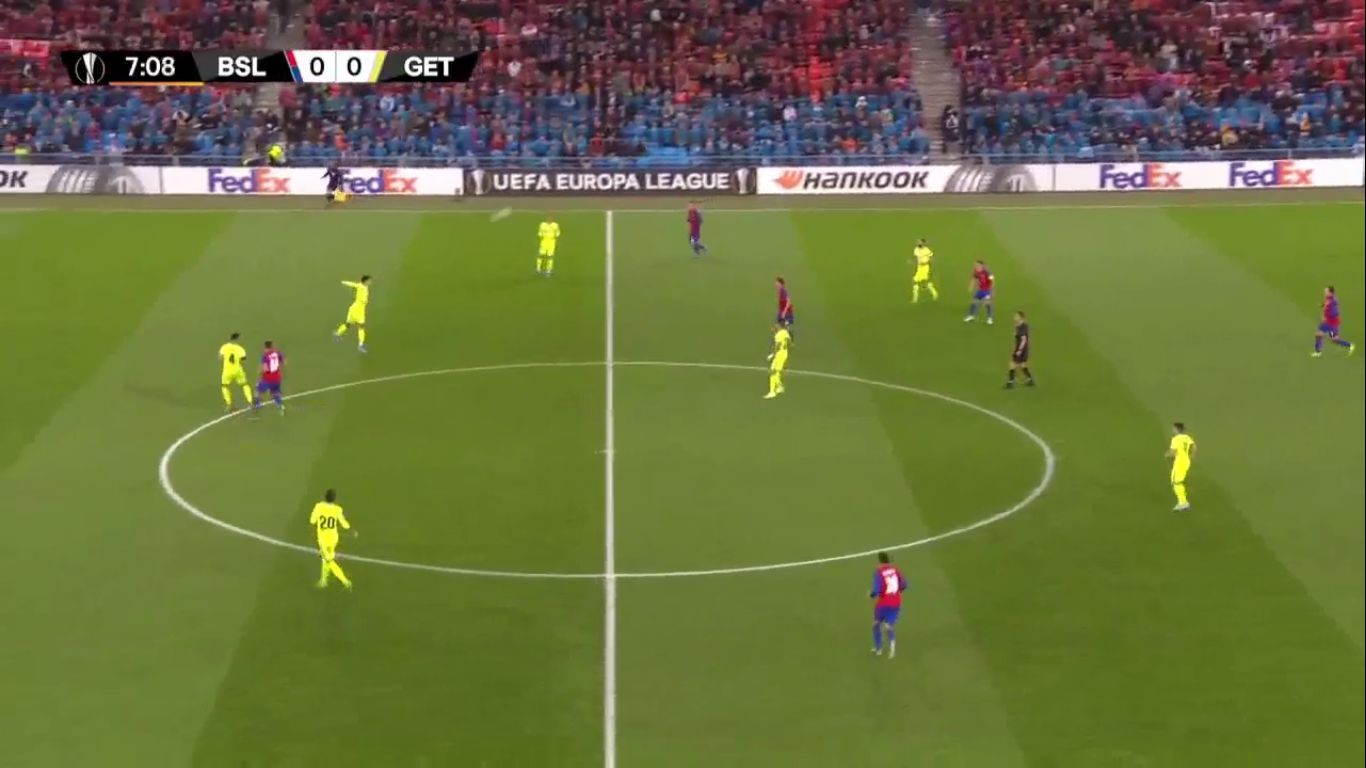 07-11-2019 - Basel 2-1 Getafe (EUROPA LEAGUE)