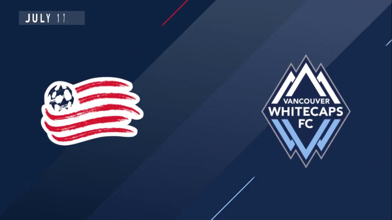 18-07-2019 - New England Revolution 4-0 Vancouver Whitecaps FC