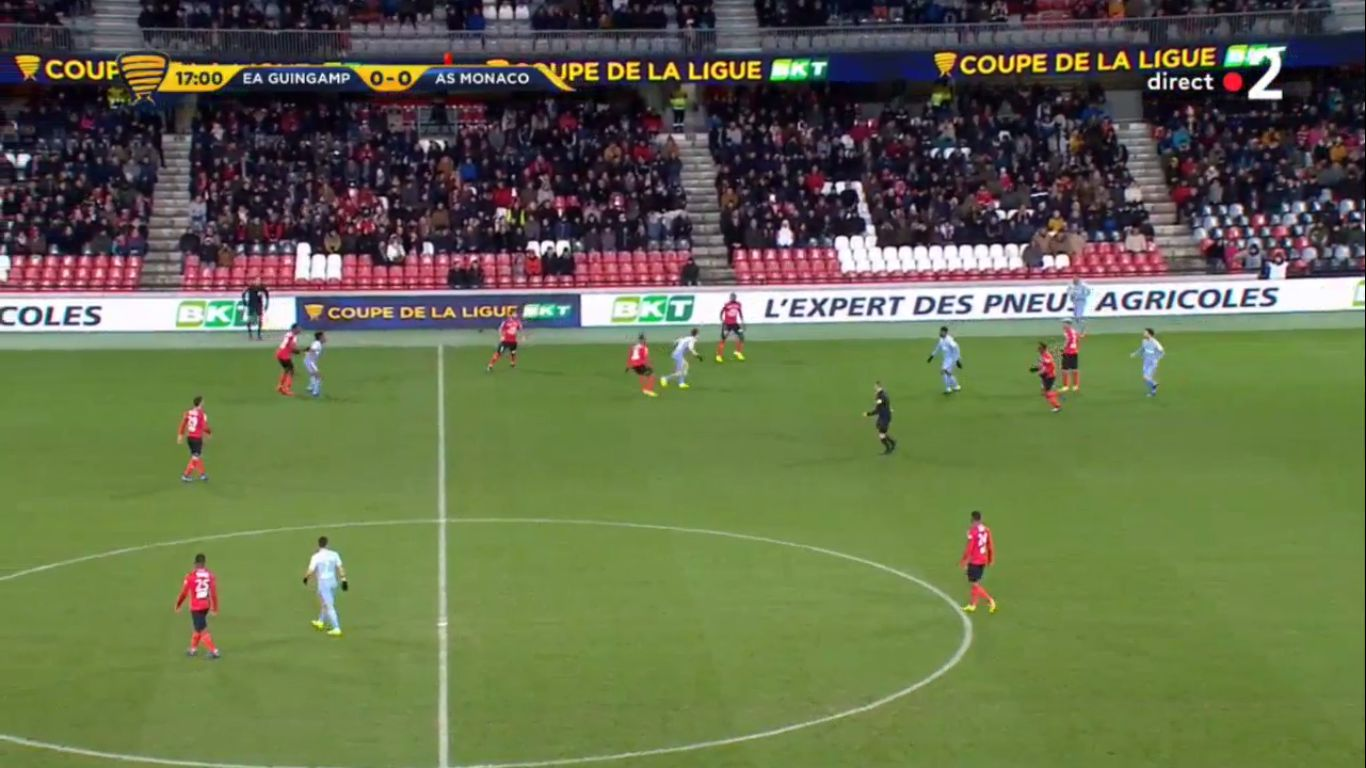 29-01-2019 - Guingamp 2-2 (5-4 PEN.) Monaco (LEAGUE CUP)