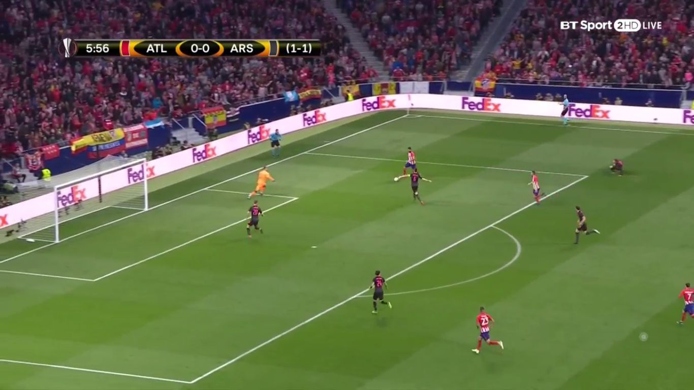 03-05-2018 - Atletico Madrid 1-0 Arsenal (EUROPA LEAGUE)