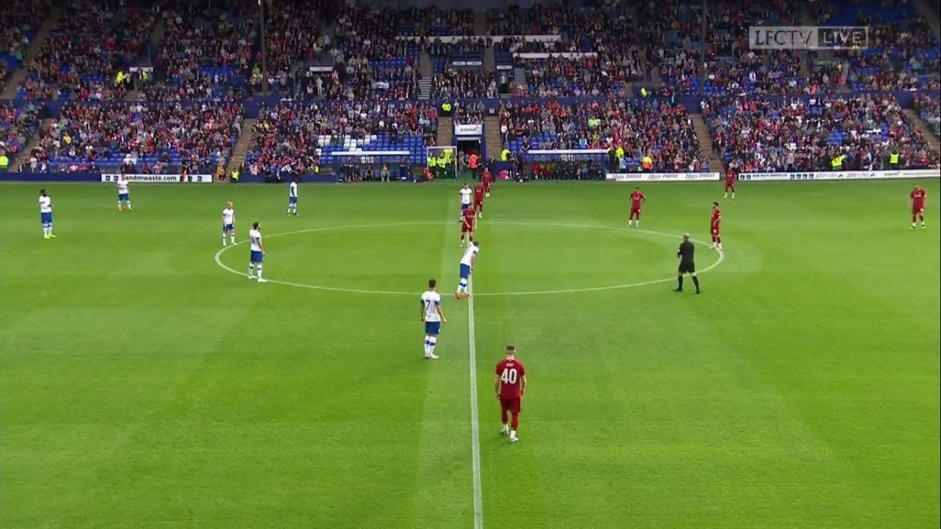 11-07-2019 - Tranmere Rovers 0-6 Liverpool (FRIENDLY)