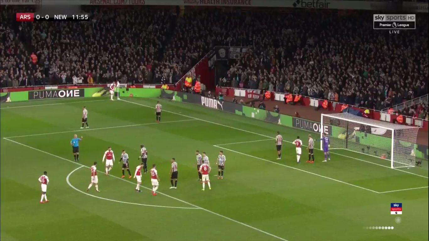 01-04-2019 - Arsenal 2-0 Newcastle United