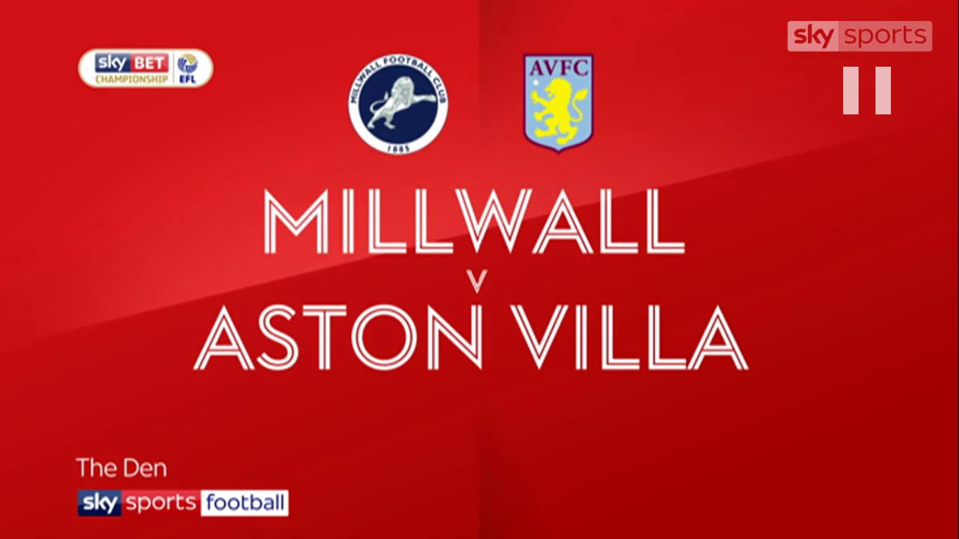 Image result for Millwall v Aston Villa