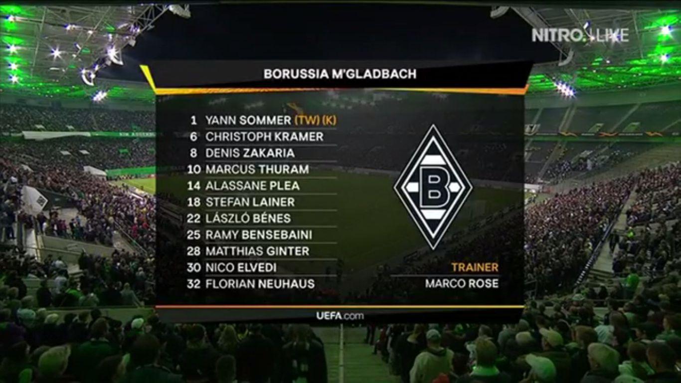 19-09-2019 - Borussia Monchengladbach 0-4 Wolfsberger AC (EUROPA LEAGUE)