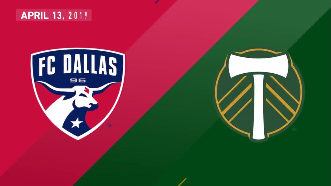 14-04-2019 - FC Dallas 2-1 Portland Timbers