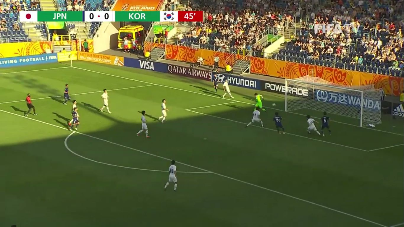 04-06-2019 - Japan U20 0-1 South Korea U20 (WORLD CUP U20)