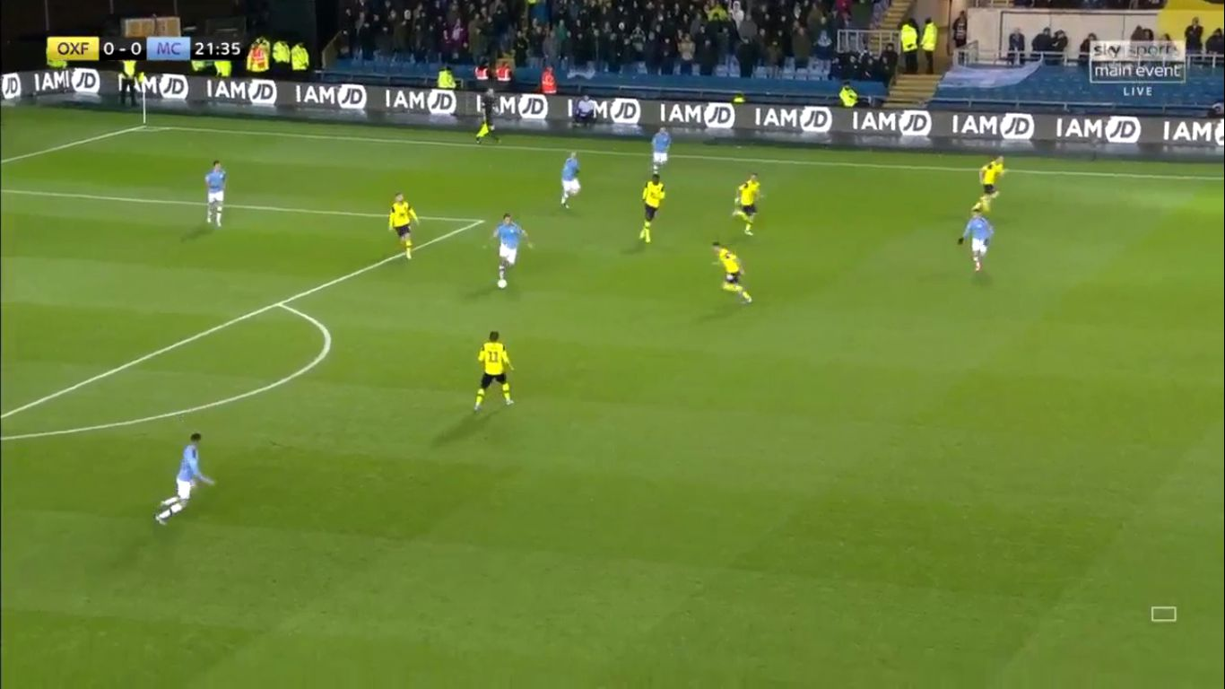 18-12-2019 - Oxford United 1-3 Manchester City (EFL CUP)